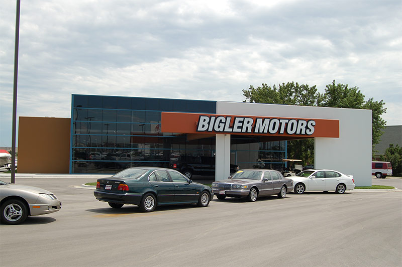 bigler motors architectural innovations